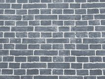 Fundo e textura quadrados azuis da parede do bloco do tijolo fotografia de stock royalty free