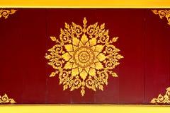 Fundo e textura tailandeses Fotografia de Stock Royalty Free