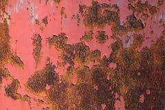 Fundo e textura velhos da oxidação do ferro do metal Imagens de Stock