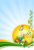Fundo Easter Ilustração Stock