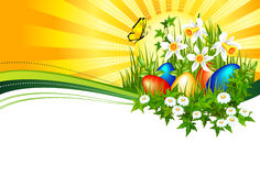 Fundo Easter Foto de Stock Royalty Free