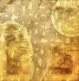 Fundo egípcio Imagens de Stock Royalty Free