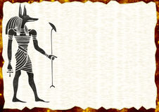 Fundo egípcio 2 Fotos de Stock Royalty Free