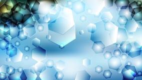 Fundo elegante azul do projeto da arte gráfica da ilustração de Azure Pattern Background Beautiful ilustração royalty free