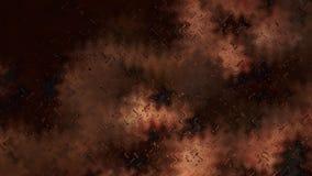 Fundo elegante bonito do projeto da arte gráfica da ilustração do fundo de Brown do fenômeno atmosférico do céu ilustração royalty free