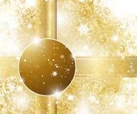 Fundo elegante do Natal Fotos de Stock