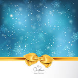 Fundo elegante do Natal Imagem de Stock