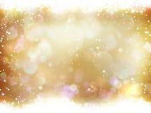 Fundo elegante do Natal Eps 10 Imagens de Stock Royalty Free