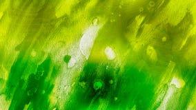 Fundo elegante do projeto da arte gráfica da ilustração de ImageBeautiful da textura verde e amarela do Grunge ilustração do vetor