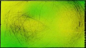 Fundo elegante verde e amarelo do projeto da arte gr?fica da ilustra??o de TextureBeautiful ilustração royalty free