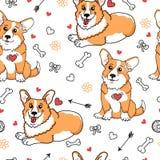 Fundo engraçado do cão Fotografia de Stock Royalty Free