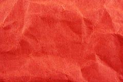 Fundo enrugado do saco de papel Imagem de Stock