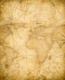 Fundo envelhecido do mapa do tesouro dos piratas ilustração stock