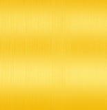 Fundo escovado dourado Foto de Stock