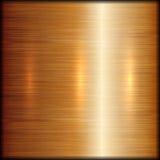 Fundo escovado sumário da textura do metal do vetor Foto de Stock