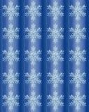 Fundo escovado sumário do inverno com flocos de neve Imagem de Stock Royalty Free