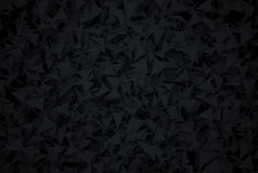Fundo escuro abstrato com polygones modernos do estilo Imagens de Stock Royalty Free