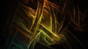 Fundo escuro abstrato com relâmpago macio Ilustração Stock