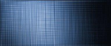 Fundo escuro abstrato Linhas que invertem a grade Do azul a enegrecer ilustração stock
