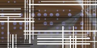 Fundo escuro com círculos e linhas pretas Imagens de Stock Royalty Free