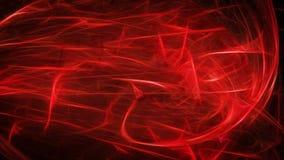Fundo escuro com fulgor vermelho Ilustração Stock