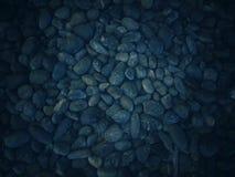 Fundo escuro com muitos testes padrões e texturas da pedra fotos de stock