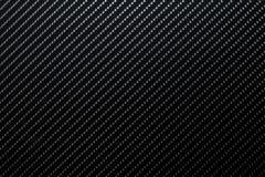 Fundo escuro da fibra do carbono Foto de Stock