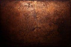 Fundo escuro da oxidação Fotografia de Stock