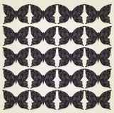 Fundo escuro das borboletas Fotografia de Stock Royalty Free
