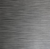 Fundo escuro de aço inoxidável da textura Fotos de Stock