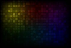 Fundo escuro do arco-íris ilustração royalty free