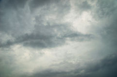 Fundo escuro do céu Fotografia de Stock