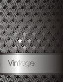 Fundo escuro do vintage para o cartão Fotos de Stock Royalty Free