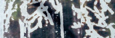Fundo escuro rasgado rasgado velho da textura do cartaz dos cartazes do grunge foto de stock royalty free