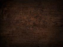 Fundo escuro riscado velho da placa de madeira Fotografia de Stock Royalty Free