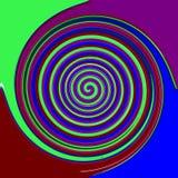 Fundo espiral abstrato do projeto ilustração do vetor