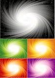 Fundo espiral colorido Fotos de Stock