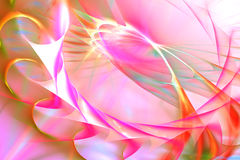 Fundo espiral cor-de-rosa abstrato Foto de Stock Royalty Free