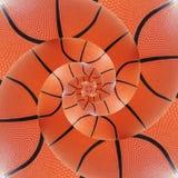 Fundo espiral de retorno dos esportes do basquetebol Imagem de Stock