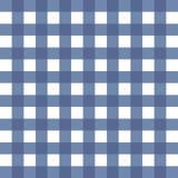Fundo esquadrado branco azul Fotos de Stock