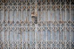 Fundo esticado do teste padrão da textura da porta fotografia de stock royalty free