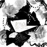 Fundo estilizado do grunge ilustração do vetor