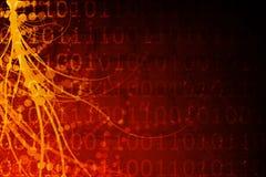 Fundo estrangeiro futurista de Biotech Imagens de Stock