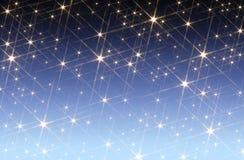 Fundo estrelado do céu foto de stock royalty free
