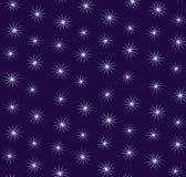 Fundo estrelado do céu Imagem de Stock Royalty Free
