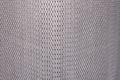 Fundo estrutural da malha de prata metálica nova fotos de stock