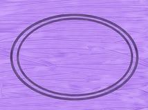 Fundo estrutural lilás com quadro oval foto de stock royalty free