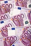 Fundo europeu da moeda Imagens de Stock