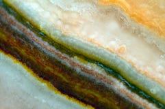 Fundo fantástico, mágica de uma pedra, rocha de cristal Fotos de Stock Royalty Free