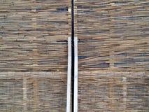 Fundo fechado de bambu da superfície do vintage do jalousie Imagem de Stock Royalty Free